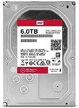 WD Red Pro 6TB 3.5-Inch SATA III 7200rpm 128MB Cache NAS Internal Hard Drive (WD6002FFWX)