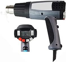 Bruit d/écibel: 15 60-650 C D/ébit dair LRJFXQ 2000W D/écapeur Thermique Moteur en cuivre Pur Panneau de Commande Intelligent Pistolet Thermique Plage de temp/érature 210-350L // Min