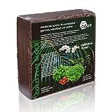 your GEAR 150 L grobe oder feine Kokoserde - 2X 5 kg Block gepresste Blumenerde - Aussaaterde aus Kokosfasern ungedüngt torffrei gorbkörnig oder feinkörnig zur Auswahl