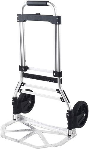 Anh erwagen Laufkatze Aluminiumlegierungs-Falten ziehen den Waren-Laufkatzen-Van-bewegliche Zugstangen-Auto-Ausgangsbewegungsautolade-Gep -Wagen Handwagen