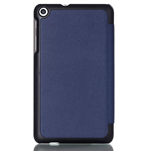 Kepuch Custer Huawei Mediapad T1 7.0 / T2 7.0 Hülle - Shell Schutzhülle PU Tasche Smart Case Cover für Huawei Mediapad T1 7.0 / T2 7.0 - Blau - 4