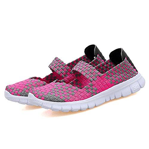 AIRAVATA SH075, Sneaker Donna, Grigio (Pink), CN 42