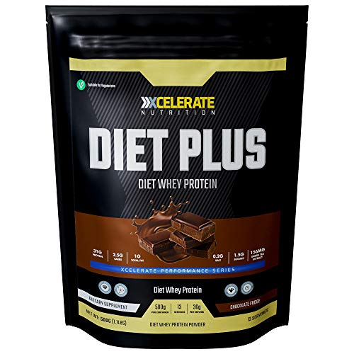 XCelerate Nutrition Diet Shake 500g Powder Shakes for Weight Loss for Women Men Low Calories Sugar Whey Protein Ultralean Lean Meal Replacement Shake