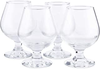 Circleware 44593/6 Biltmore Cognac Wine Brandy Snifter Whiskey Glasses, Set of 4 All- All-Purpose Elegant Party Beverage Glassware Drinking Cups for, Beer, Liquor and Bar Decor, 11.5 oz, Clear