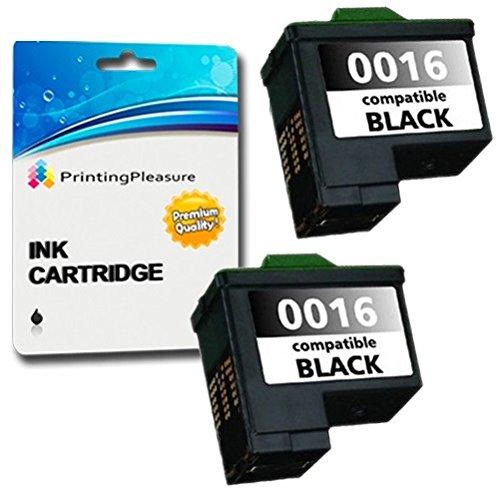 2 SCHWARZ Druckerpatronen für Lexmark i3 X1100 X1150 X1170 X1180 X1190 X1240 X1270 X2240 X2250 X72 X74 X75 Z13 Z23 Z24 Z25 Z25L Z35 Z513 Z515 Z600 Z605 Z615 Z640 | kompatibel zu Lexmark 16/17