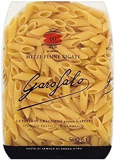 Garofalo Mezze Penne Rigate Pasta - 500g (1.1lbs)