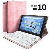 Keyboard Case for Fire HD 10 Tablet (9th Genertion...