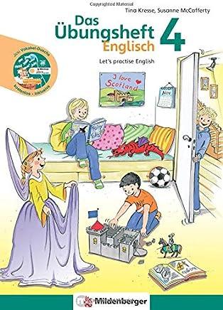 """Das Übungsheft Englisch 4 Let's practise English it AudioCD Jicki VokabelDusche 4"""" by Tina Kresse,Susanne McCafferty"""