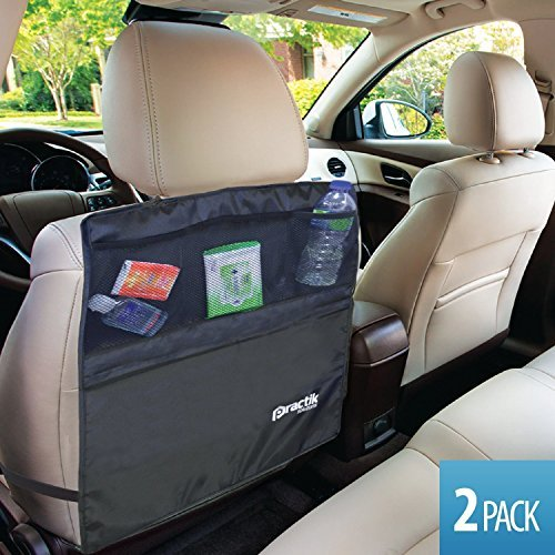 2-Pack PRACTIK Kick Mats and Organizer 18.5-Inch by 24-Inch