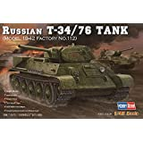 ホビーボス 1/48 ロシア戦車 T-34/76 1942年型 プラモデル
