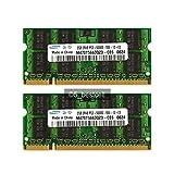 4GB (2x 2GB) DDR2 667MHz (PC2 5300S) SO Dimm Notebook Laptop Arbeitsspeicher RAM Memory Samsung Hynix Micron