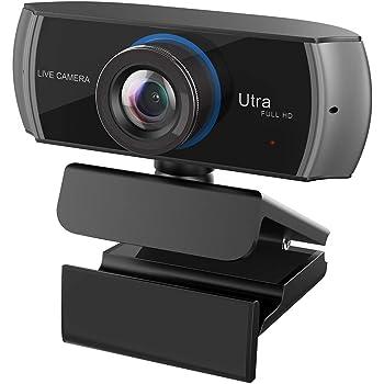 Full HD ウェブカメラ 1536p 1080p 30fps 高画質 300万画素 ワイドスクリーン パソコン ビデオ通話 マイク付き マイクカメラ コンピューター タブレット XboxOne PC Macbook TV Boxサポート