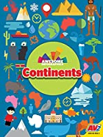 Continents (Awesome Infographics)