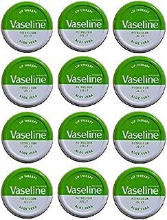 Vaseline Lip Balm 20g/0.705oz (12x20g/0.705, Aloe Vera)