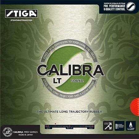 Stiga Calibra Lt Sound 2, 0mm Table Tennis Rubber, Unisex Adulto
