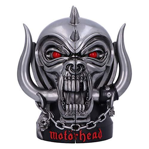 Nemesis Now Offically Licensed Bookends Offizielles Lizenzprodukt Motorhead Warpig Snaggletooth Buchstützen, Silber, 18 cm