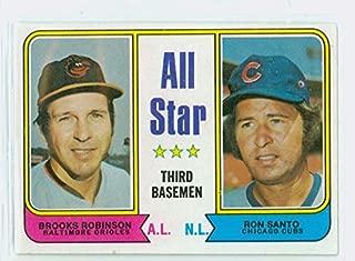 1974 Topps Baseball 334 All Star 3rd Basemen Near-Mint