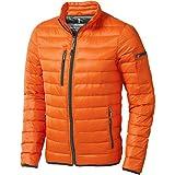 Elevate Chaqueta ligera de plumón modelo Scotia para hombre (Extra Grande (XL)/Naranja)