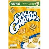 Cereales Nestlé Golden Grahams - Cereales de maíz y trigo tostados - 12 paquetes de cereales de 420g
