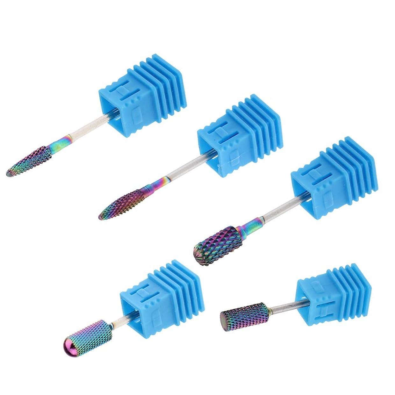 正気正確さつかまえるSM SunniMix 陶磁器ドリルビット ネイルドリルビット ロータリーファイル 研削ネイル 切削工具 耐摩耗性 5個入