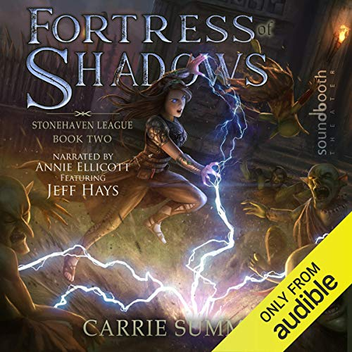 Fortress of Shadows: A LitRPG and GameLit Adventure audiobook cover art