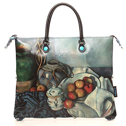 Gabs Damen Handtasche G3 M Paul Cezanne Print mehrfarbig