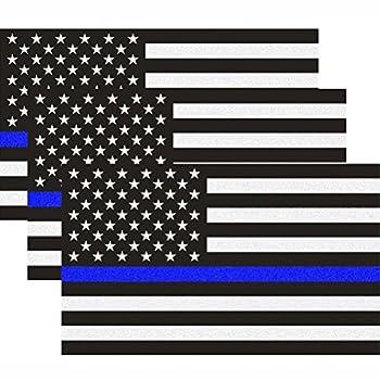 Best blue line flag decal Reviews