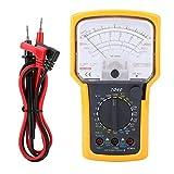 Tester elettrici multimetro ad alta precisione con puntatore multimetro analogico per capa...