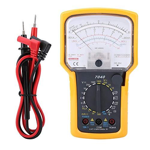 Multímetro analógico de alta precisión con puntero y multímetro eléctrico para capacidad...