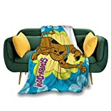 TYYY S-coo-by D-og Throw Blankets Super Soft Warm Blanket for Couch Sofa Bed Travel and Camping(50'x40')