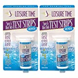 LEISURE TIME Spa & Hot Tub Bromine 4 Way Test Strips, 50 Count (2 Pack)