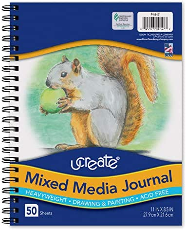 Pacon UCreate Mixed Media Journal Heavyweight 11 x 8 1 2 50 Sheets product image