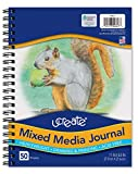 Pacon UCreate Mixed Media Journal, Heavyweight, 11' x 8-1/2', 50 Sheets