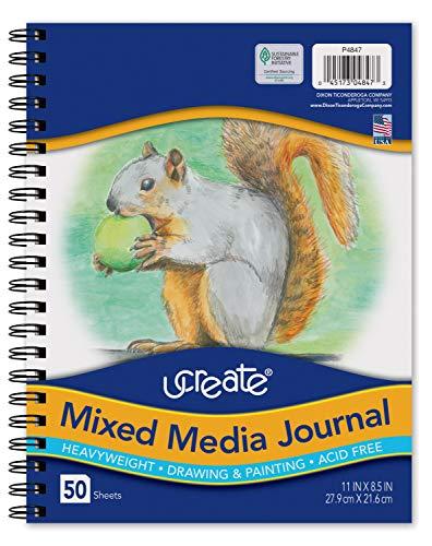 Pacon UCreate Mixed Media Journal, Heavyweight, 11