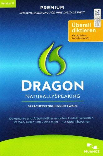 Dragon Naturally Speaking Premium Mobile / v11.0 / Windows / CD Mini Box - Einführungspreis