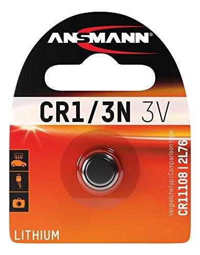 ANSMANN Lithium Batterie CR1/3N - CR11108/2L76 Batterie mit 3V und langer Haltbarkeit - Unempfindlich gegen Extremtemperaturen - Ideal für Kamera, Waage, Uhr & Fernbedienungen für Standheizungen