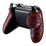 eXtremeRate Grip Cover per Xbox One S X Controller Pannello Laterale Pezzi Ricambio per Xbox One S X Joystick(Model 1708)-Rosso Antiscivolo