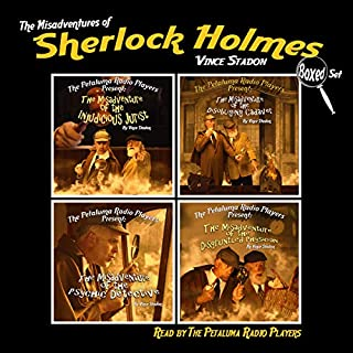 The Misadventures of Sherlock Holmes, Boxed Set cover art