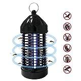 Elektrischer Insektenvernichter, UV Insektenvernichter Mückenlampe Tragbare Mückenlampe Schutz vor Elektrischem Schlag, Insektenlampe Zeltlampe