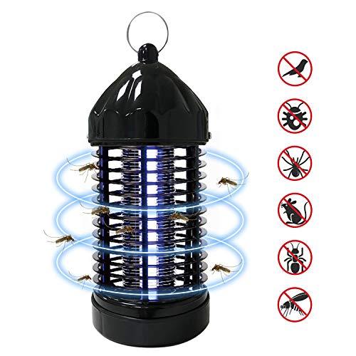 Elektrischer Insektenvernichter, UV Insektenvernichter Mückenlampe Tragbare Mückenlampe Schutz vor Elektrischem Schlag, Insektenlampe Zeltlampe, Insektenvernichter Insektenfalle für Innen und Außen