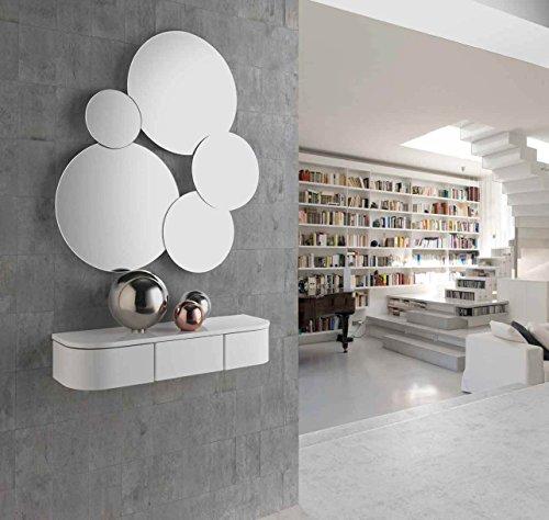 CH Design - Recibidores Modernos - Consola MIA Blanca