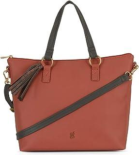 Baggit Autumn-Winter 2020 Faux Leather Women's Tote Handbag (Pink) (Lxe Mironda)