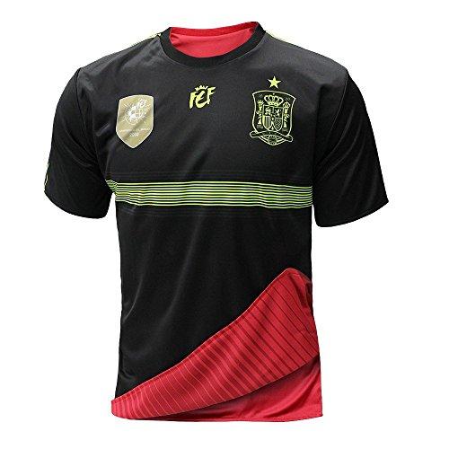 RFEF Selección española de fútbol. Camiseta Oficial Reversible. 2 en 1. (S) Importante! Las Tallas Son pequeñas, pida una Talla más Grande de su Talla Habitual.