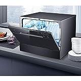 SKREOJF Lavastoviglie for Uso Domestico Automatici integrati 6 Set di Piccoli a Desktop lavastoviglie Dispositivo Portatile Mini Power e di Risparmio dell'Acqua