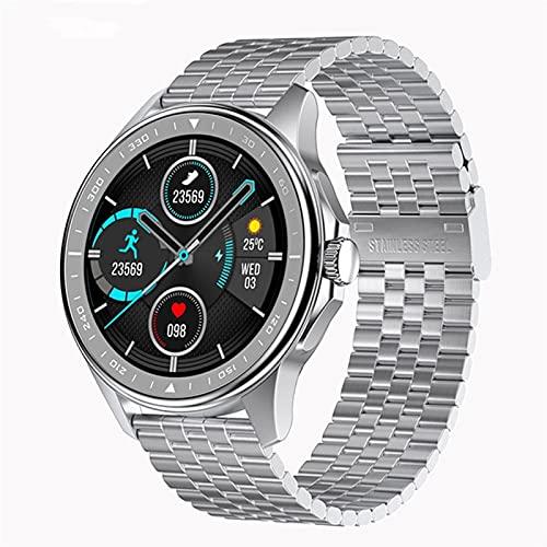 ZBY 2021 Moda Hombre SK3 Smart Watch Pedómetro Watch Bluetooth Call Smart Watch ECG Ejercicio Ejercicio Fitness Tracker,A