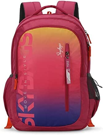 Skybags Figo Plus 02 34 Ltrs Gradient Pink Casual Backpack (FIGO Plus 02)