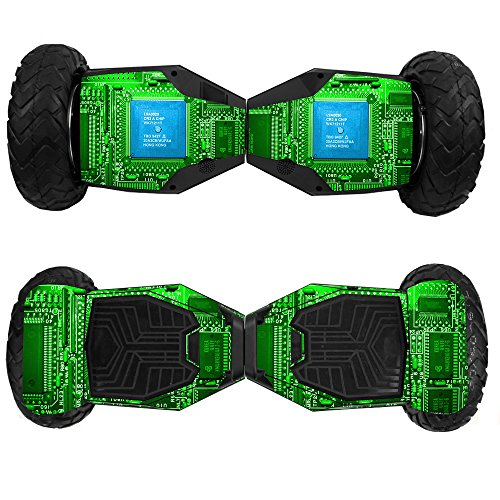 MightySkins Skin Compatible with Swagtron T6 Off-Road Hoverboard - Circuit Board | Protective, Durable, and Unique Vinyl Decal wrap Cover | Easy to Apply, Remove, and Change Styles | Made in The USA