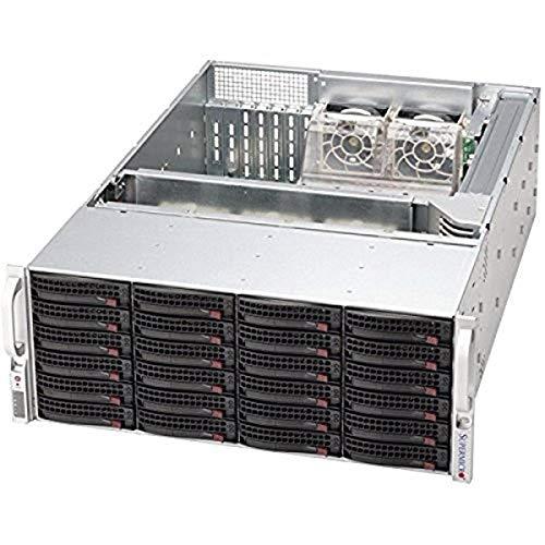 SuperMicro SC846 BE2c-R1K28B - Rack-Mountable - 4U - Enhanced Extended ATX, Black