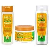 Cantu Haarpflege-Set enthalten feuchtigkeitsspendende Conditioner & Shampoo mit Avocado-Öl & Shea...