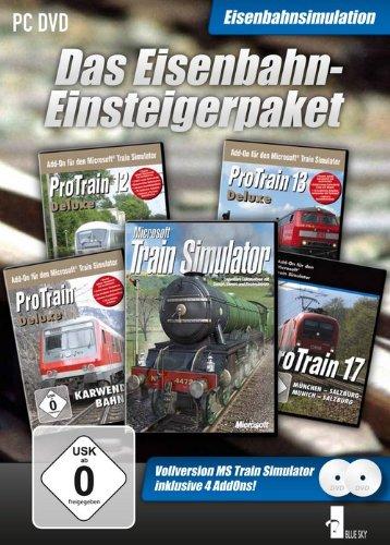 Eisenbahn Einsteigerpaket MSTS HP + 4Strecken - [PC]